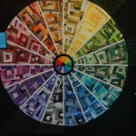 colour wheel quilted